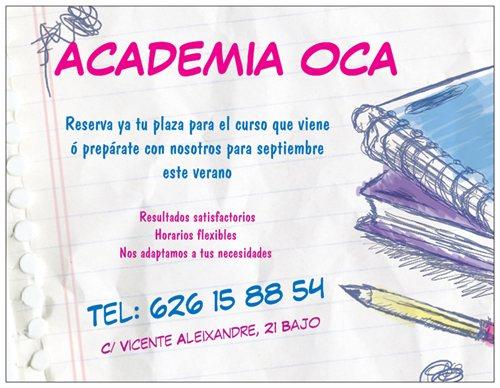 Academia OCA tu academia en Murcia